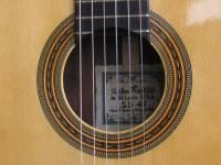 Classical guitar (detail)
