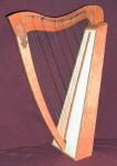 25 String Celtic Harp