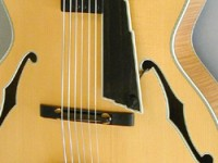 Archtop guitar