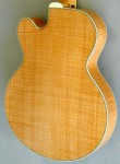 Archtop guitar (back)