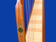 Irish 34 String Harp