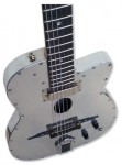 Custom Aluminum Guitar