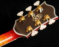 Archtop guitar (detail)