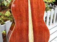 Classical guitar (back)
