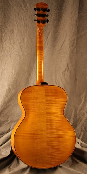 Handcarved Archtop Guitar