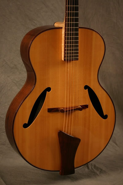 Handcarved Archtop Guitars