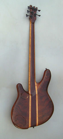 5 string fretted Pisces Bass