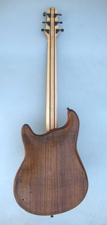 2013 Madrone arch top guitar