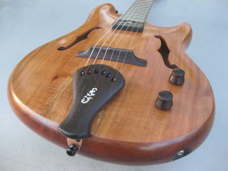 2013 Madrone Arch top Guitar - Image 2